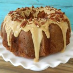 Apple Cream Cheese Bundt Cake with Prali..