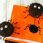 Dark Chocolate Spider Cupcakes with Choc..