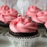Dark Chocolate Cupcakes with Raspberry B..