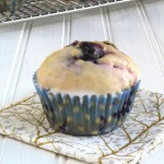 Glazed Blueberry Donut Muffins