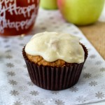 Apple Cider Muffins with Brown Butter Gl..
