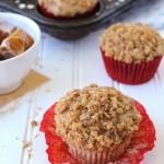 Caramel Apple Streusel Muffins