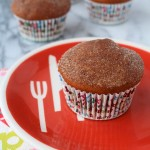 Gingerbread Donut Muffins