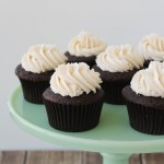 Guinness and Irish Cream Cupcakes