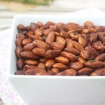 Spiced Almonds with Lemon and Rosemary